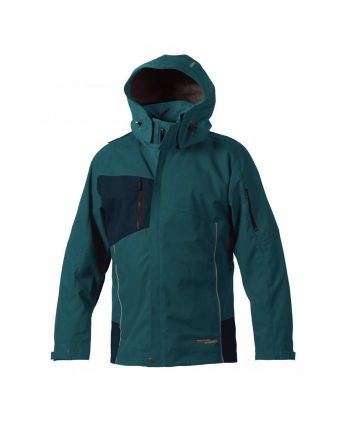 """""""Bjornklader"""" mėlynos spalvos striukė nuo lietaus ir vėjo (XS, S dydis)"""